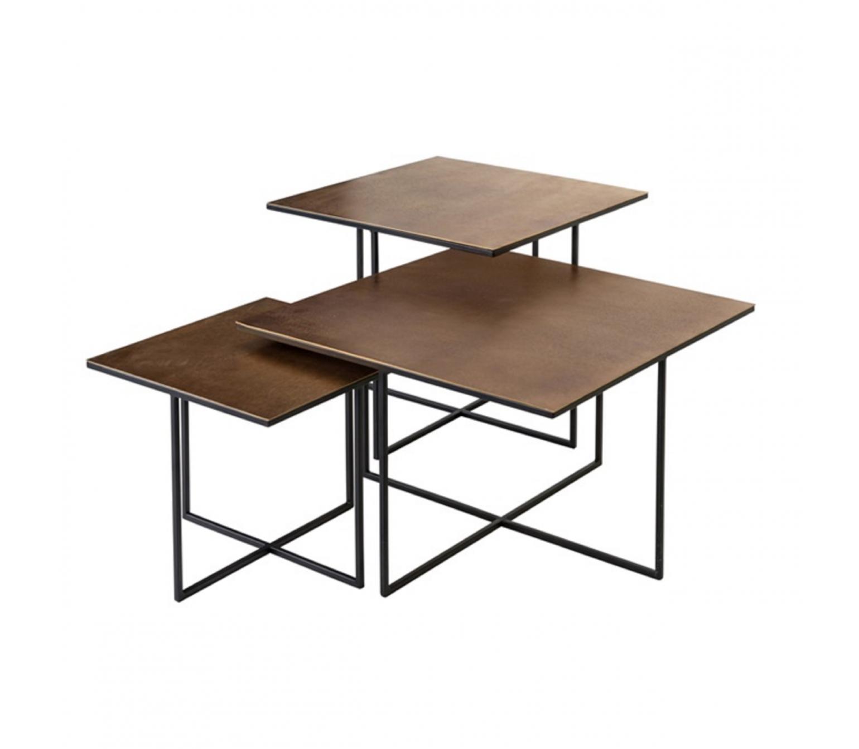 Trijų staliukų komplektas